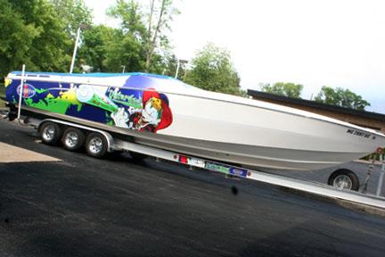 Disturbed Cigarette Boat Wrap Zentx Media Group Blog
